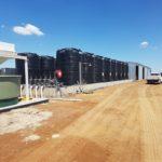 fertigation tanks for almond plantation