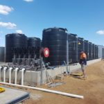 Complete drain tanks in a Fertigation set-up