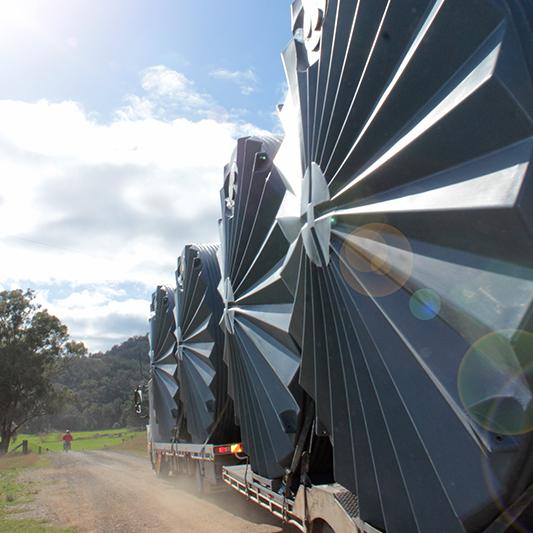 Rainwater Tanks  Freight Details